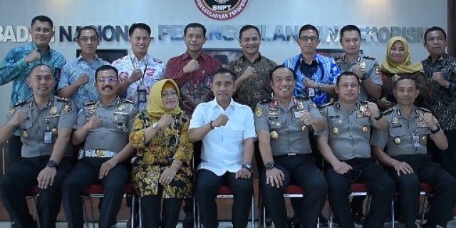 Karo Binkar Polri Kunjungi BNPTdan Kerjasama Screening Pejabat Dari Bahaya Terorisme
