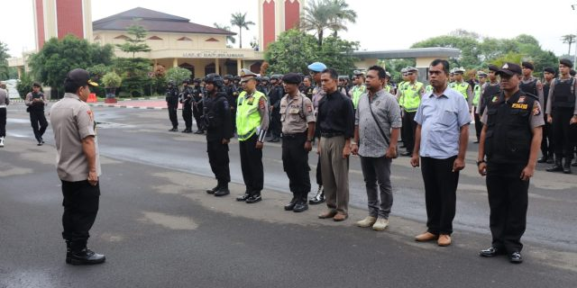Jamin Keamanan Tahun Baru Imlek, Polda Banten Gelar Apel Siaga