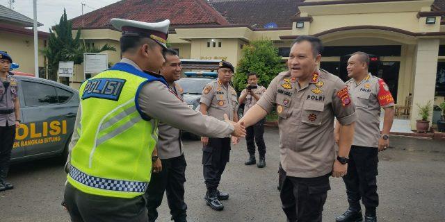 Kapolda Banten, Kunjungi Polsek Rangkas Bitung Polres Lebak