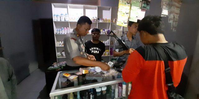 Polsek Pabuaran, Ungkap Peredaran Obat Terlarang berkedok kosmetik
