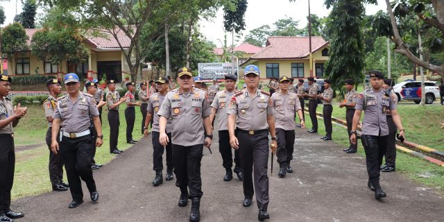 Kapolda Banten Irjen Pol Agung Sabar Kunjungi SPN Mandalawangi