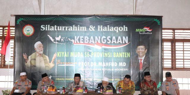 Kapolda Banten Dampingi Menkopolhukam Dialog kebangsaan dengan Kyai Muda Banten