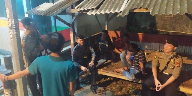 Patroli Dini Hari, Ditsamapta Polda Banten Pelihara Kamtibmas, dengan Cara Dialogis