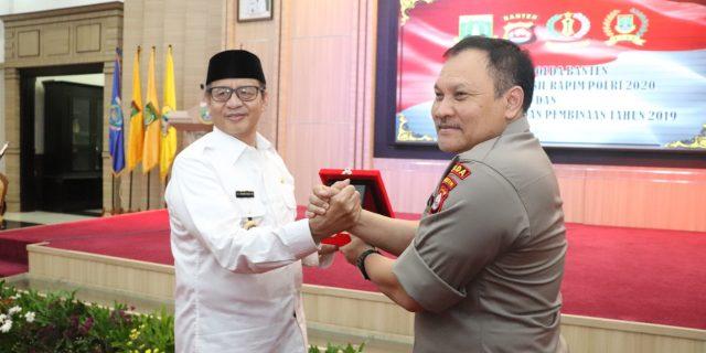 Polda Banten Gelar Rakor Kesiapan Pengamanan Pilkada 2020