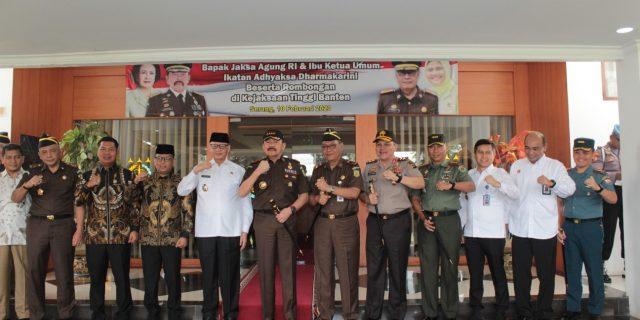 Kapolda Banten, Sambut Kunker Jaksa Agung RI di Provinsi Banten