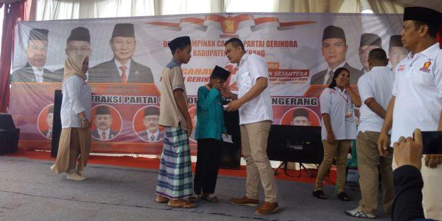HUT Partai Gerindra Yang Ke 12 Di Meriahkan Dengan Berbagai Baksos dan Lomba Qasidah