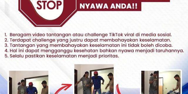 Kabid Humas Imbau, Masyarakat STOP Skullbreaker Challenge,Membahayakan Nyawa Anda!!