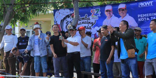 HUT Kota Tangerang, Pesan Sachrudin Kegiatan Mancing Mania Harus Ditingkatkan