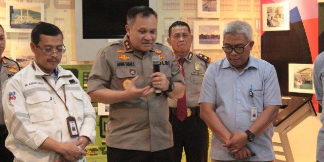 Kapolda Banten Tinjau OBVITNAS, PT. Indonesia Power Suralaya PGU Merak Banten
