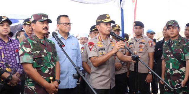 Panglima TNI : Saya Sangat Bangga Kepada Polri, Atas Kepedulian nya Terhadap Lingkungan