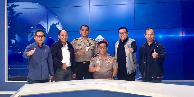 Jalin Kemitraan dengan Media, Pejabat Divisi Humas Polri Kunjungi MNC Grup