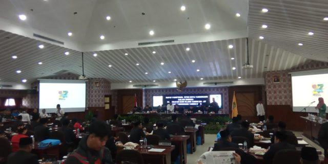 Rapat Paripurna DPRD Kota Tangerang Tahun 2020 Terbuka Untuk Umum
