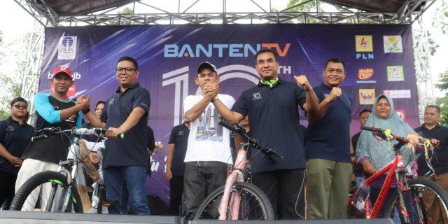 Hut Banten TV Ke 10 Tahun Dihiasi Rangkaian Acara dan Doorprize