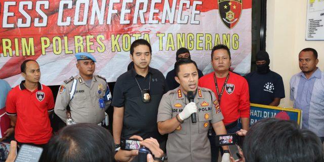 Empat Oknum Anggota Serikat KASBI Diamankan Polresta Tangerang
