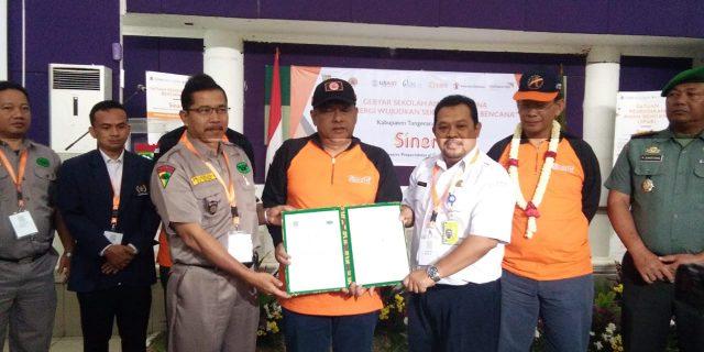 Serius Tanggapi Bencana, BPBD Kabupaten Tangerang Deklarasi Forum PRB-API