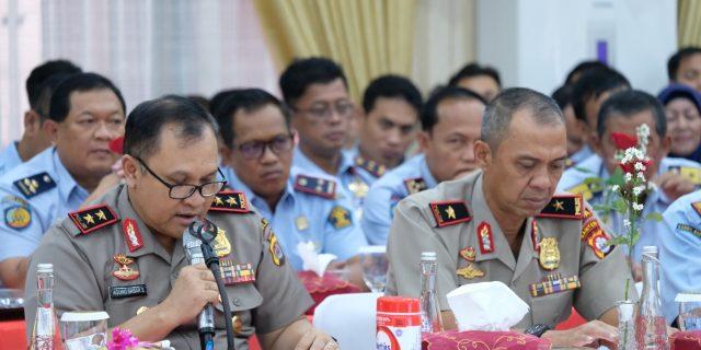 Kapolda Banten, Sambut Kunker Komisi 3 DPR RI Dapil Banten