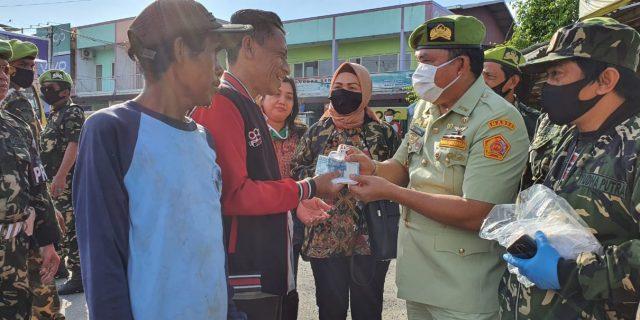 Ketum PP,PPM Adakan Pembagian Masker Dan Sembako Kepada Masyarakat Tangerang