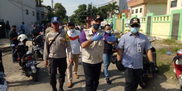 Bupati Tangerang Ahmed Zaki Iskandar Monitoring Penyaluran Bansos Di Sepatan Dan Medang