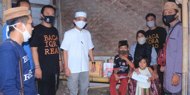 Berbagi Kebahagiaan Di Bulan Ramadhan, TBM Cahaya Ilmu Santuni Yatim