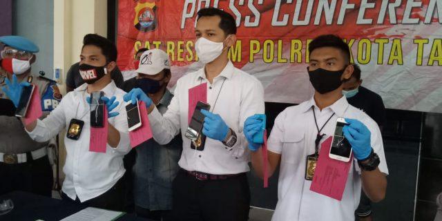 Polresta Tangerang Bekuk Kawanan Curas yang Menyasar Muda-Mudi