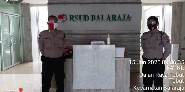 Polresta Tangerang Amankan Rumah Sakit dan Rumah Singgah Karantina