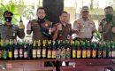 Ratusan Botol Miras Berhasil Diamankan Satpol PP Kota Tangerang