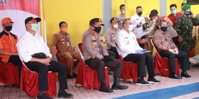 Kapolda Banten Dampingi Kunker Ketua DPR RI, Menko PMK RI dan Mensos RI