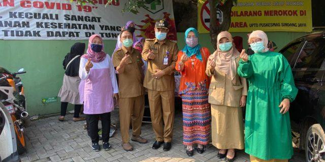 Harganas Ke-27 Tingkat Kecamatan Puskesmas Sindang Jaya Gratiskan Pelayanan Akseptor