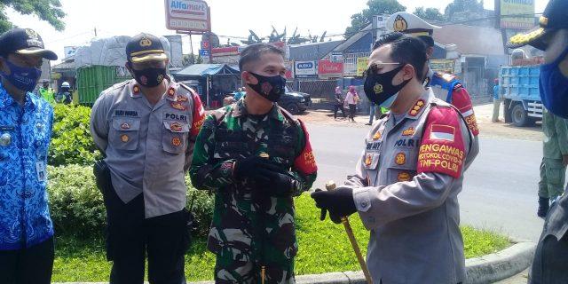 Kecamatan Cikupa Bersama Muspika Gelar Operasi Yustisi Gabungan