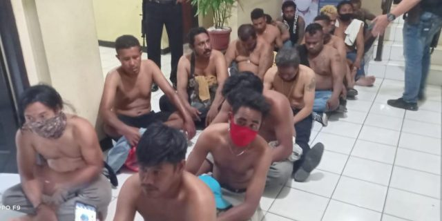 Dalam Waktu Singkat Polresta Tangerang Ringkus Pelaku corat coret Tempat ibadah