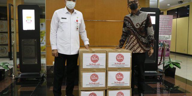 Pemkab Tangerang Terima Bantuan dari PT LG Electronics Indonesia dan PT Hilon Indonesia