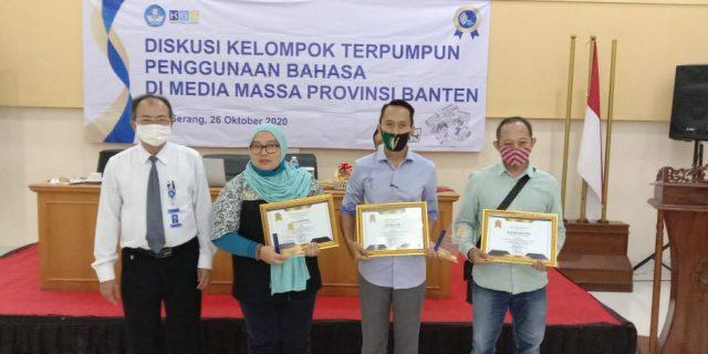 SKU Suluh News Raih Penghargaan Dari Kantor Bahasa Banten