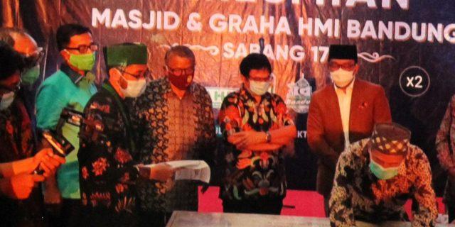 Peresmian Graha HMI Bandung, Menandai Dibukanya Pusat Kreativitas Produk Halal & Inkubasi Bisnis