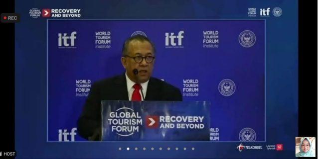 INDONESIA SIAPMENJADI TUAN RUMAH GLOBAL TOURISM FORUM 2021