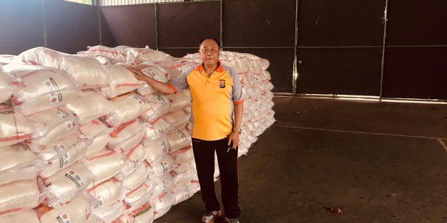 Mabes Polri Salurkan 60 Ton Beras Bantu Masyarakat di Provinsi Banten