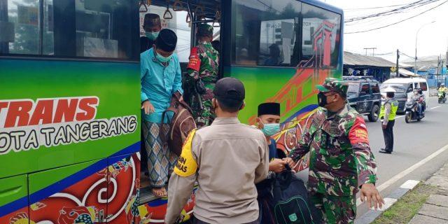 Jajaran Petugas Polres Metro Tangerang Kota berhasil Amankan Warga Membawa Sajam