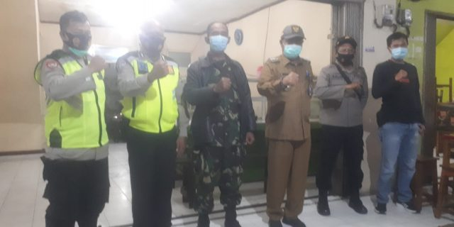 Camat Sindang Jaya H. Abudin SIP. MM Gelar Patroli Dimalam Pergantian Tahun