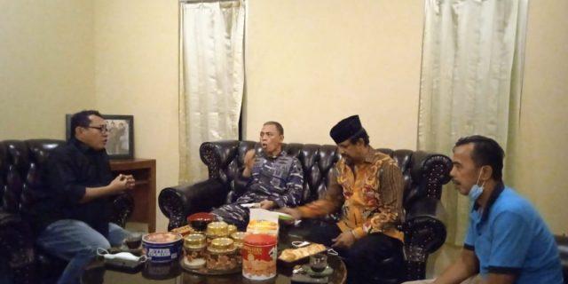Journalist Boarding School Kedatangan Tamu Danlanal dan PHRI Banten