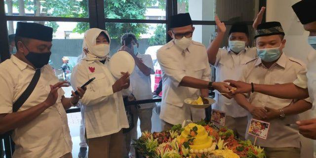 DPC Gerindra Kota Tangerang Rayakan HUT Partai Gerindera Ke-13 Tahun