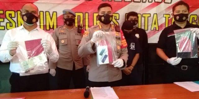 Atas Laporan Warga Polresta Tangerang Berhasil Bekuk Jambret