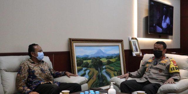 Ombudsman dan Kapolda Banten Kolaborasi Terkait Pelayanan Publik