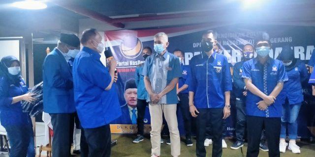 Ketua DPW NasDem Edi Ariadi M.S.I. Pimpin Rapat Kerja Daerah