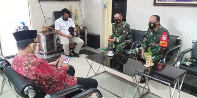 Komandan Pangkalan TNI AL Berkunjung Kekantor Bupati Banyumas