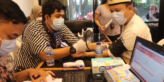 DPC Gerindra Gandeng PMI Adakan Donor Darah