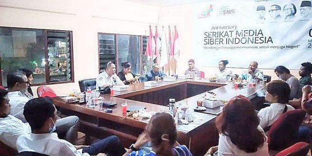 Timur Indonesia Bersatu dan SMSI Melaksanakan Buka Puasa Bersama
