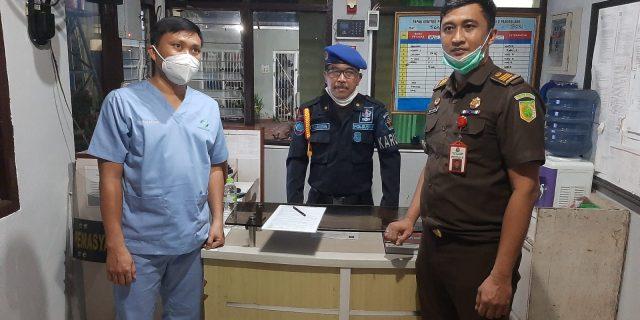 Kejari Kota Tangerang jebloskan Tersangka NA ke Rutan Kelas 2B Pandeglang