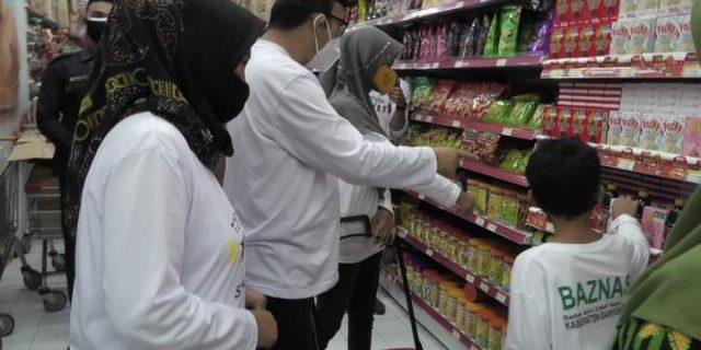 Baznas Kabupaten Purbalingga Berbagi Kasih Kepada Anak Yatim dan Dhuafa