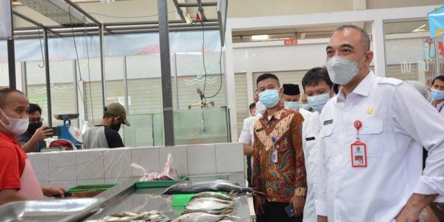 Bupati Tangerang Sidak Pasar Intermoda Dan AEON Mall