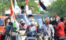 Dukungan Masyarakat Tangerang Untuk Palestina Digelar di Sepanjang Jalan Raya Cipondoh