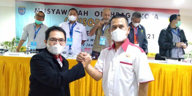 Heri Supriyanto Ketua KONI Kota Depok hasil Musorkot, Janji, Masuk 10 Besar di Proprov 2022 Jaba